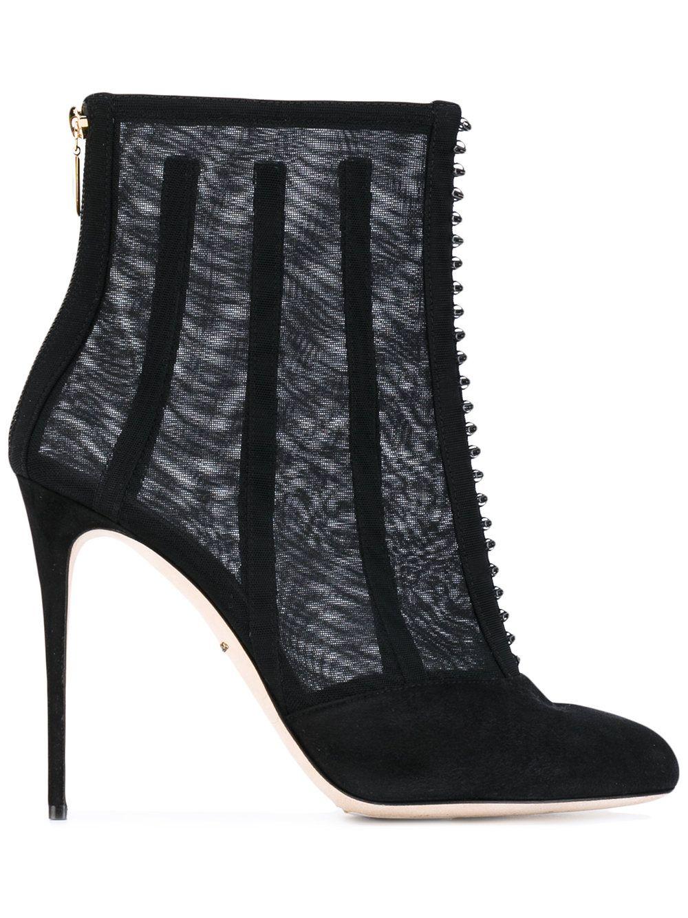 ed26aeee27bb9 Dolce   Gabbana Botines De Malla   Mallas y Comprar