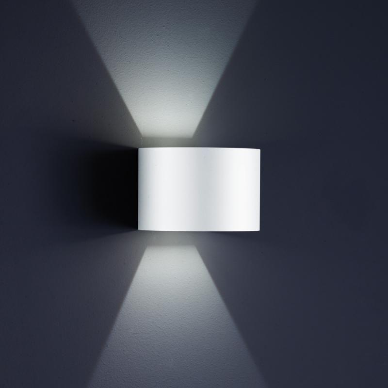 Helestra SIRI 44 LED Wandleuchte, Lichtaustritt verstellbar - leuchten fürs wohnzimmer