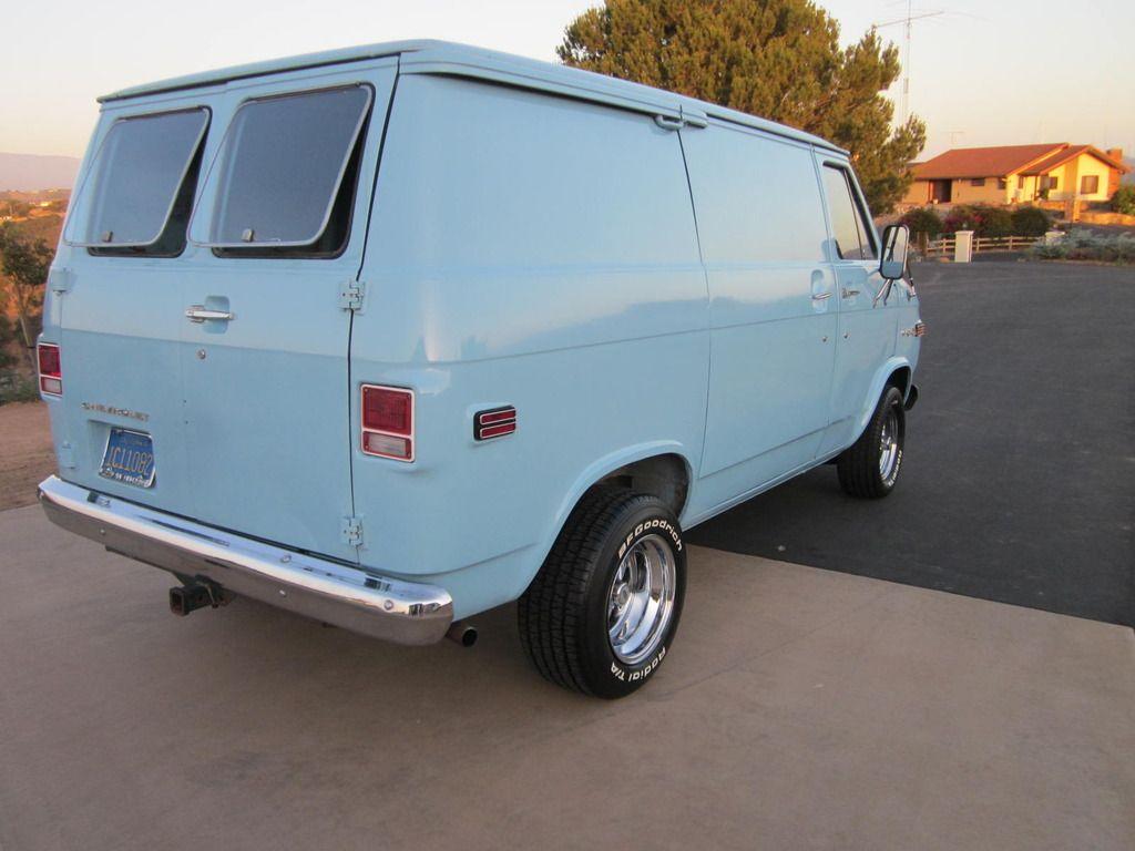 G 20 Chevy Van Chevy Van Custom Vans