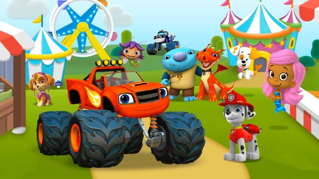 Nick Jr. - Carnival Creations - Games For Kids   Gameplay for kids ...