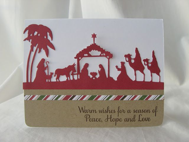 Crafty Girl Designs: Day 5 Holiday Card Inspiration! | Navidad ...