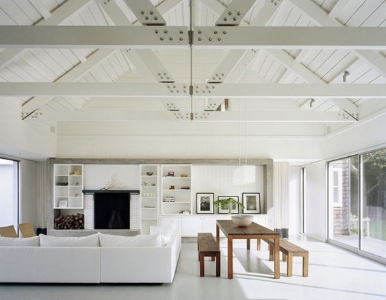 Vaulted Ceiling Design Ideas Exposed Wood Trusses Contemporary Interesting Living Room Wood Ceiling Design Design Ideas