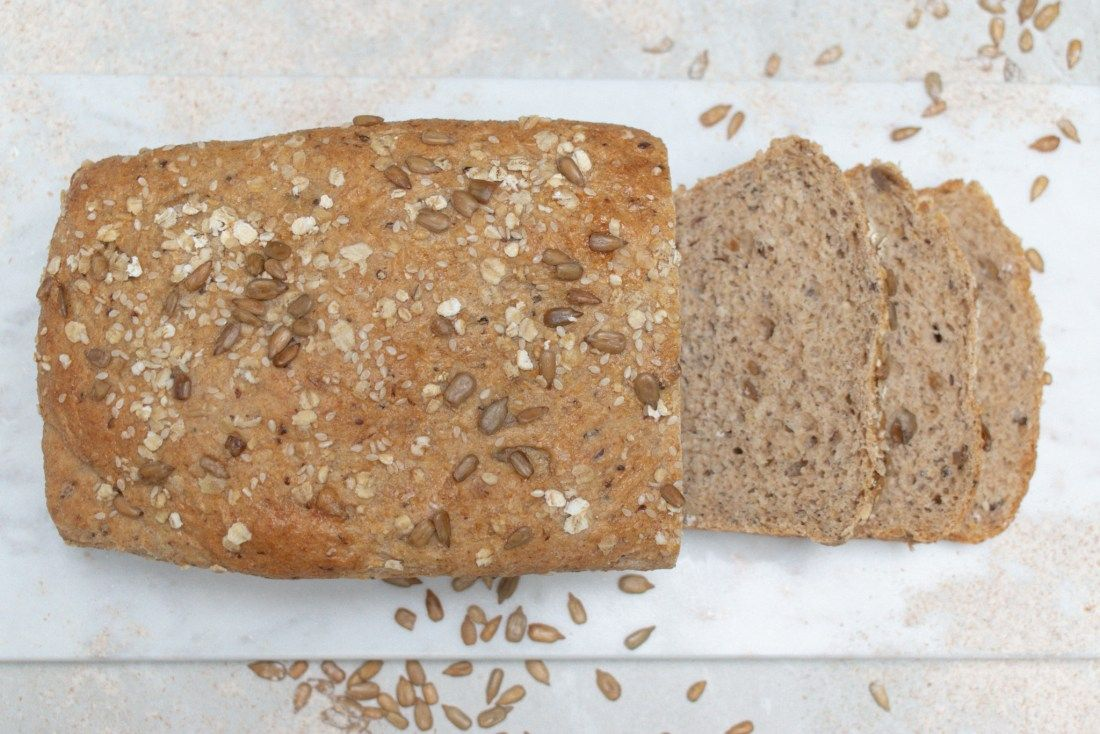 Healthy Homemade Sandwich Bread Grey Stripes Denim Recipe Homemade Sandwich Homemade Sandwich Bread Healthy Homemade