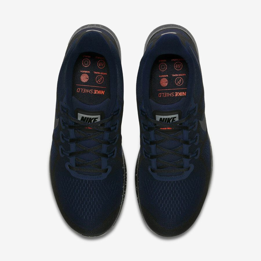 0883257fc7e Nike Free RN 2017 Shield AA3760-001 Triple Black Obsidian Men s Running  Shoes Shield Nike Free