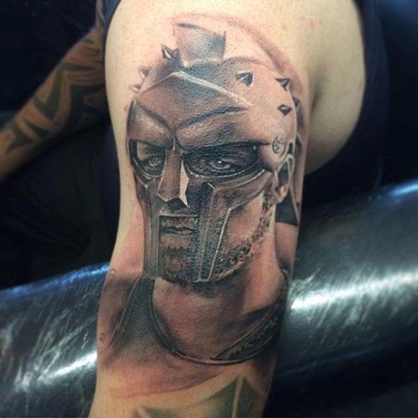 Roman empire gladiator tattoo designs for males tatoos for Roman tattoo ideas
