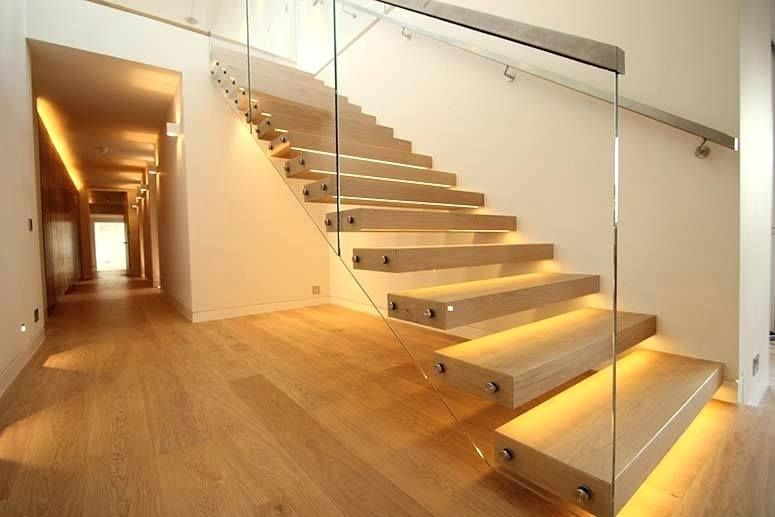 Make your stairs light up with your presence & conserve energy by