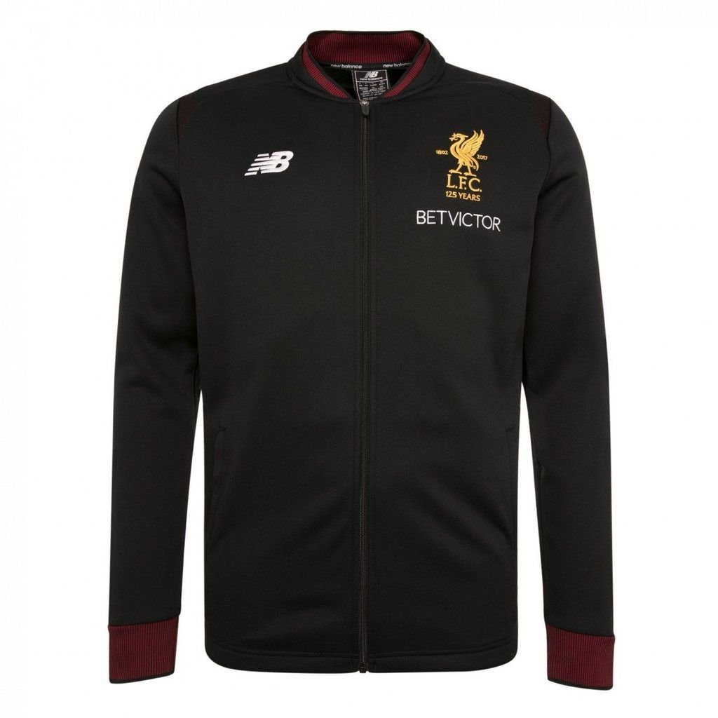 989ea4aae985c New Balance Men's Liverpool FC 2017-18 Elite Training Walk Out Jacket