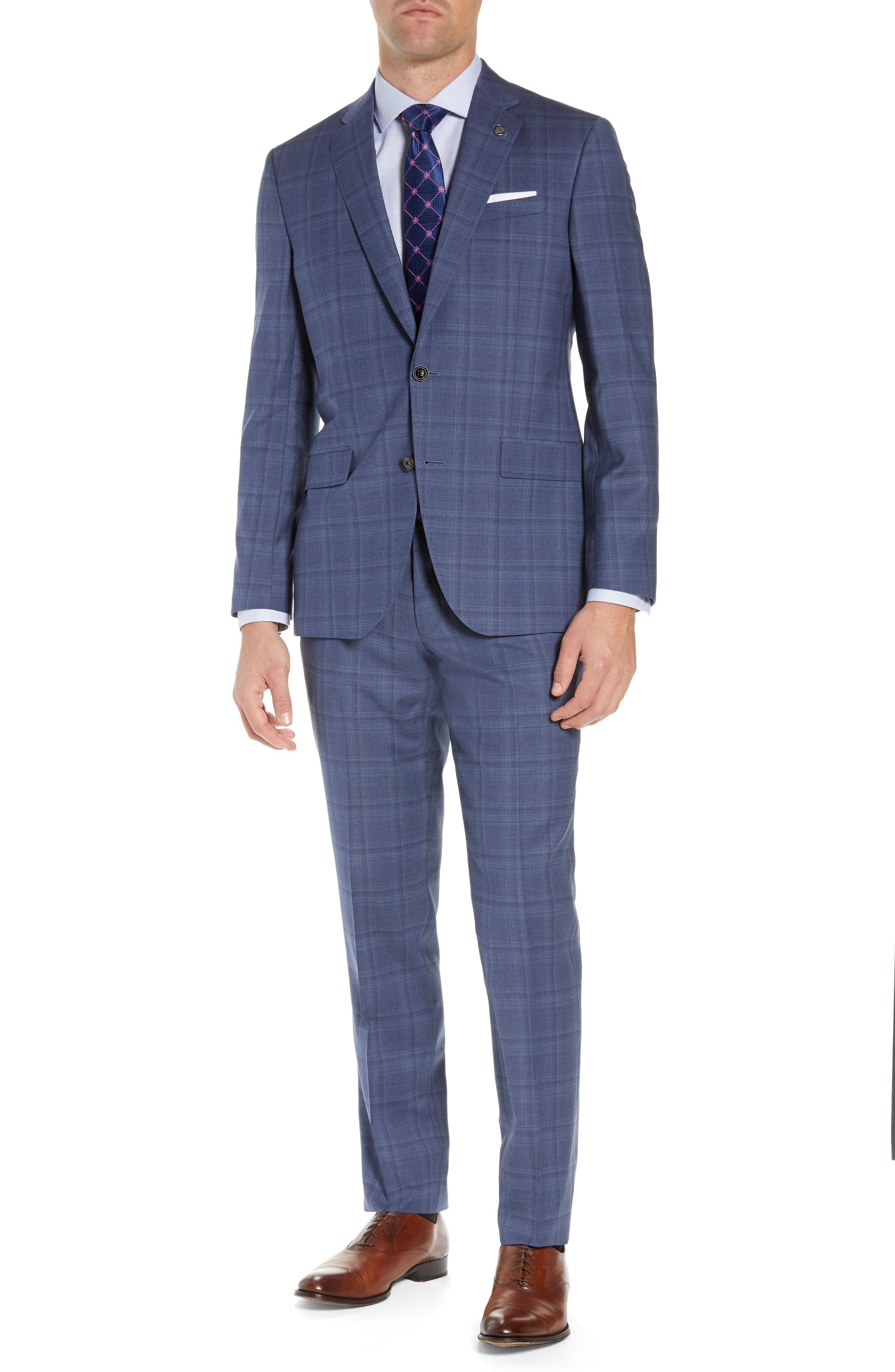 f356b21e51b64f TED BAKER JAY TRIM FIT PLAID WOOL SUIT. #tedbaker #cloth | Ted Baker ...