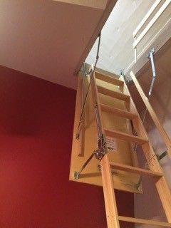 The Easiest And Most Practical Way To Access The Unused Space In Your Attic Is By Installing An Attic Ladder The Great Thing Wi Attic Loft Ladder Attic Ladder