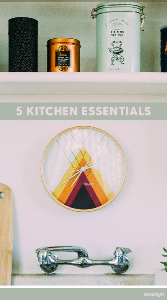 A kitchen makeover can be just what you need to circulate new energy in… | Society6 thumbnail