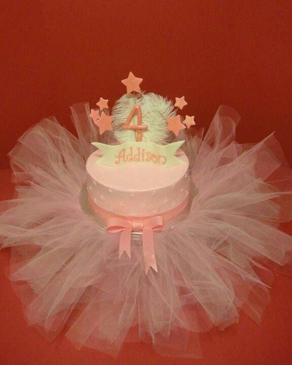 Superb Ballerina Tutu Theme Birthday Cake With Images Tutu Birthday Personalised Birthday Cards Akebfashionlily Jamesorg