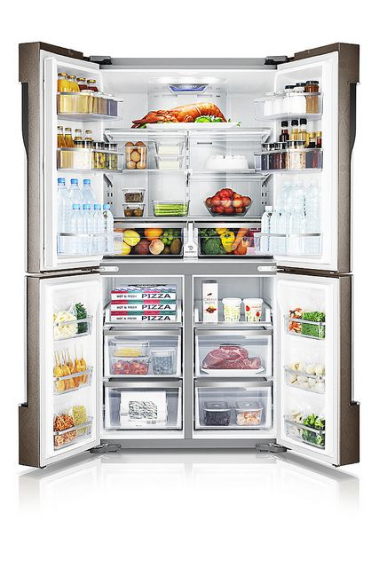 Samsung Releases 2013 Year Type Zipel T9000 Refrigerator Kitchen