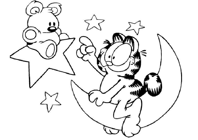 Malvorlagen Garfield-14 | Malvorlagen Gratis | Malvorlagen ...