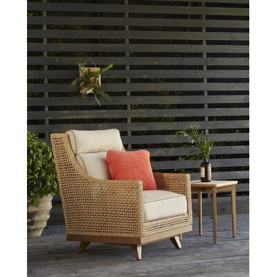 Peninsula Speaker Spring Patio Chair