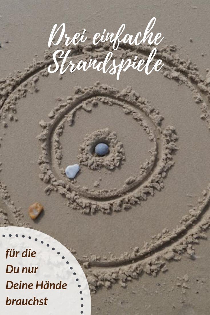 Drei Einfache Strandspiele Fur Die Du Nur Deine Hande Brauchst Strandspiele Urlaub Spiele Spiele