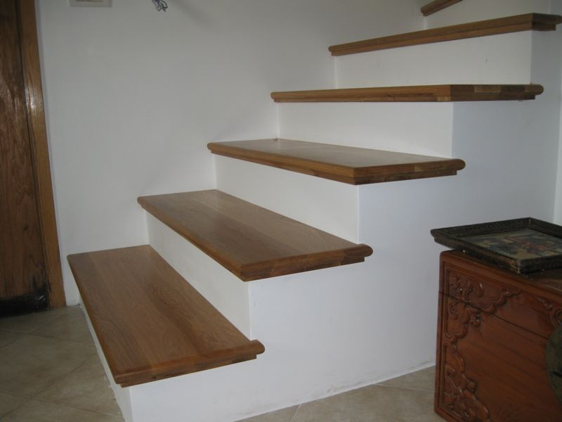 Stairs Over Concrete Base Concrete Stairs Oak Stairs Stairs