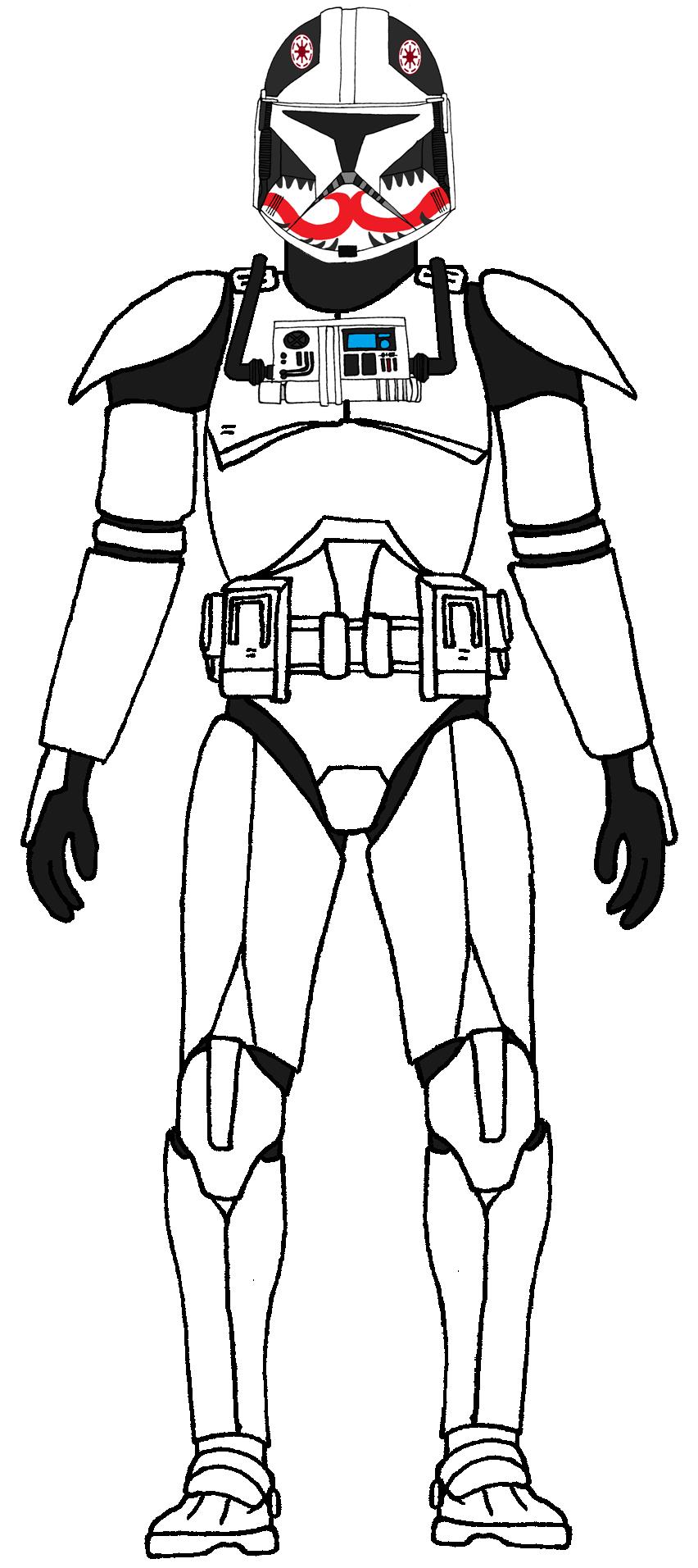 Clone Trooper Pilot Matchstick 1 | Clone Trooper Characters ...