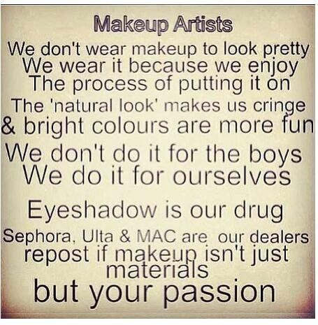 Hahahahaha It S True I Don T Wear Makeup But More Because I M Just Lazy Not Fabulous P Really Funny Funny Quotes The Funny