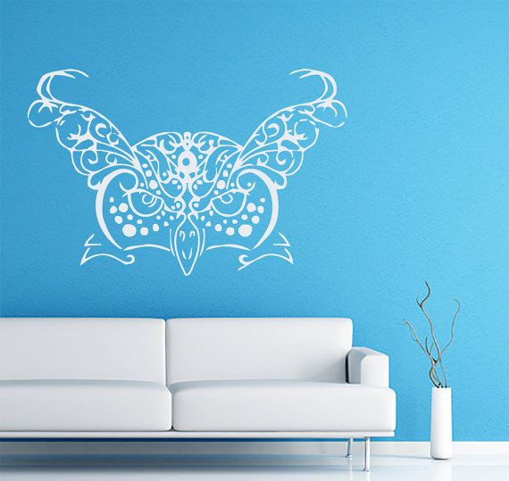 Wall Decals India Owl Decal Vinyl Sticker Home Art Bedroom Home Decor Interior Design Art Mural Ms226