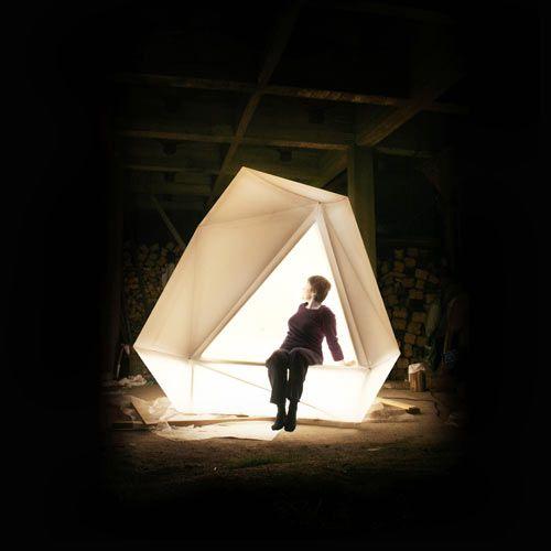LYHTY Lighted Indoor/Outdoor Tent by Erkko Aarti & LYHTY Lighted Indoor/Outdoor Tent by Erkko Aarti | Tents Helsinki ...