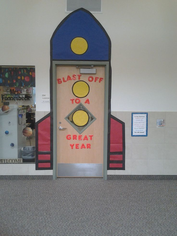 Space themed classroom love it a must pin for cool for Outer space decor