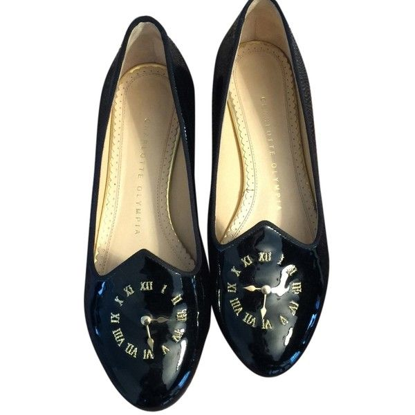 Pre-owned - Patent leather flats Charlotte Olympia wncZRT