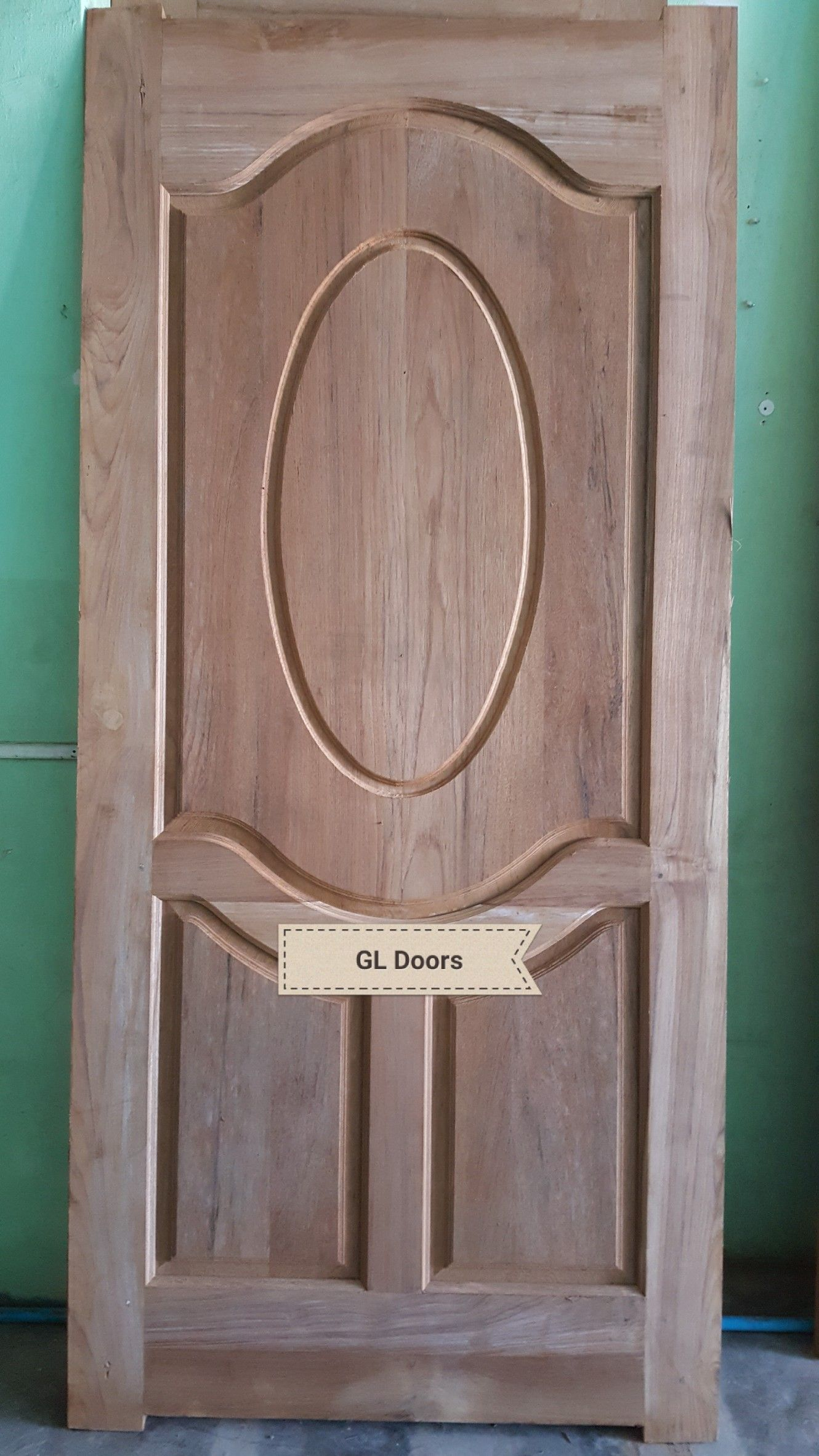 Entrance Doors Wood Gl on