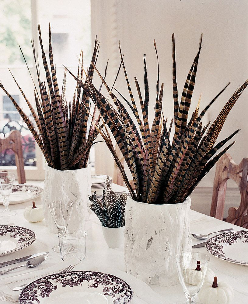 Unexpected Centerpieces