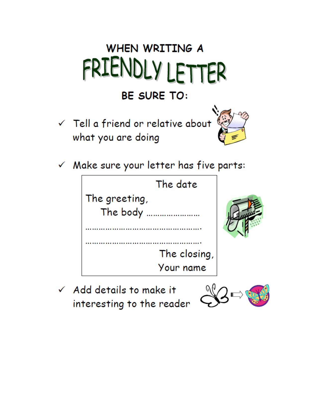 Learning To Write Letters Templates