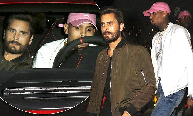 SCOTT DISICK: Besties With Breezy For A Reason!