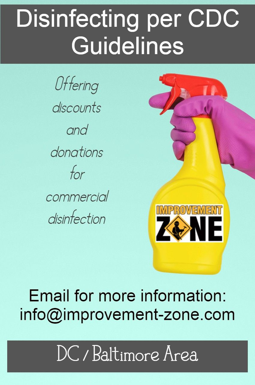 Commercial cleaning per CDC guidelines. For businesses in
