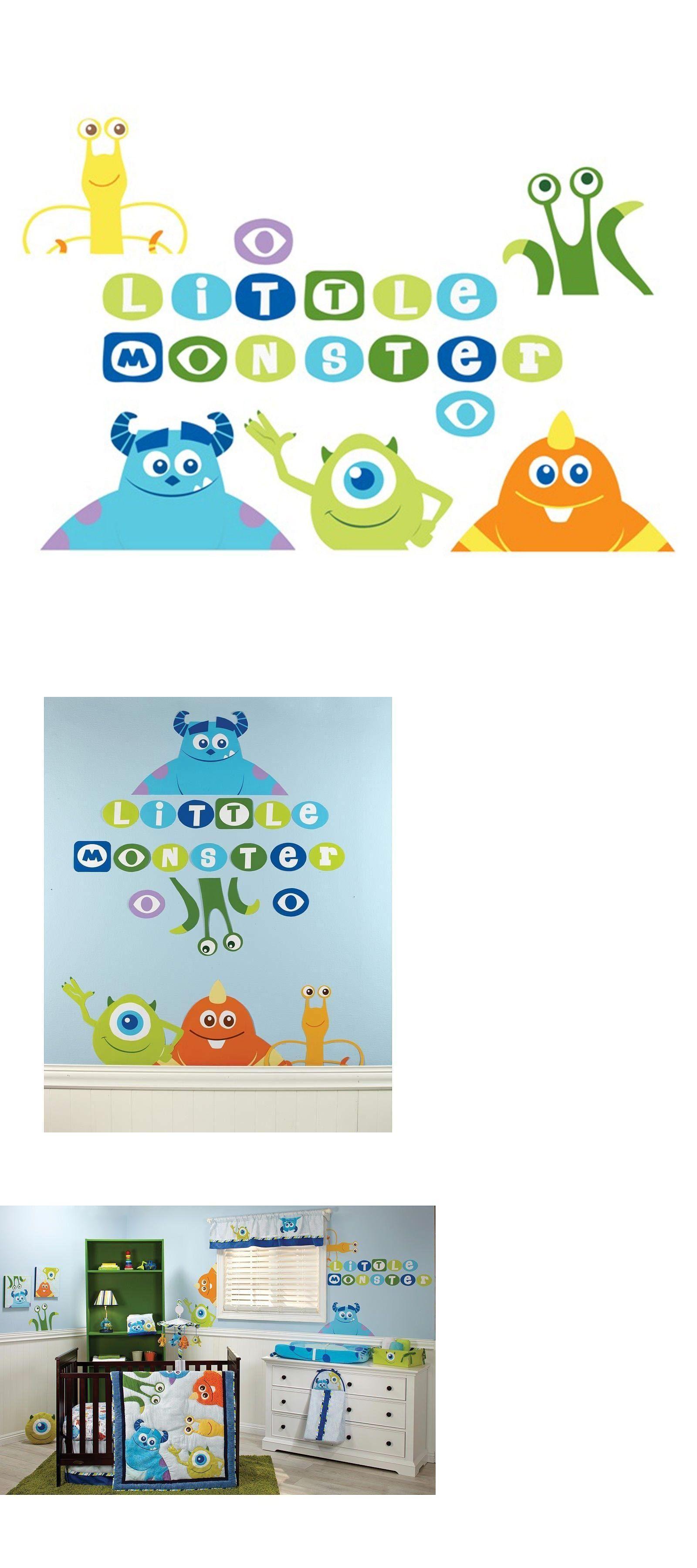 Nursery D Cor 66697 Disney Baby Monsters Inc Wall Decals