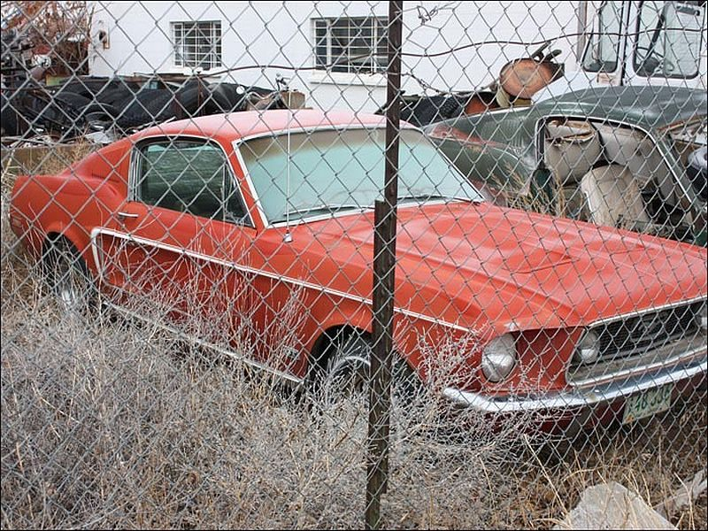1968 Mustang GT Fastback   Rusted Rides   Pinterest   1968 mustang ...