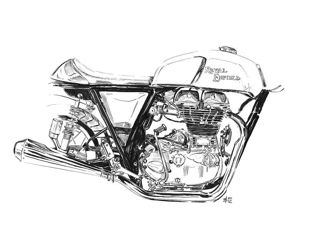Martin Squires Automotive Illustration: Motorcycle Live 2012 with ...