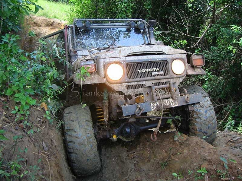 Four Wheel Drive Adventure Jeep Tours In Sri Lanka 4x4 Jeep