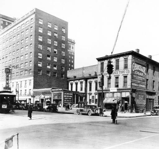 Third Broadway Brown Hotel Far Left Louisville Kentucky 1926