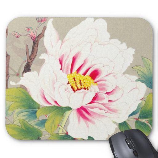 Zuigetsu Ikeda Pink Camellia japanese flower art Mouse Pad | Zazzle.com#art #camellia #flower #ikeda #japanese #mouse #pad #pink #zazzlecom #zuigetsu
