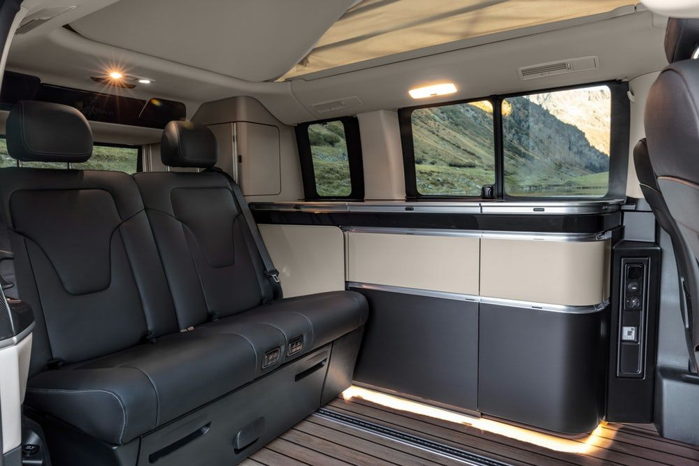 Mercedes Refreshes The V Class Van And Camper Vans Mercedes Marco Polo Mercedes Benz