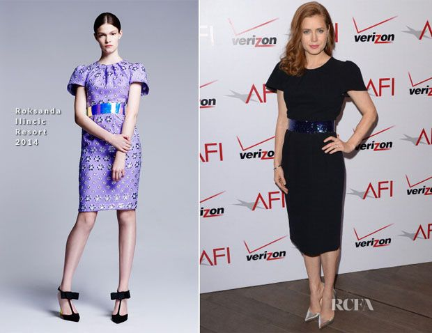 Celebrity Fashion at the 2014 AFI Awards Luncheon in