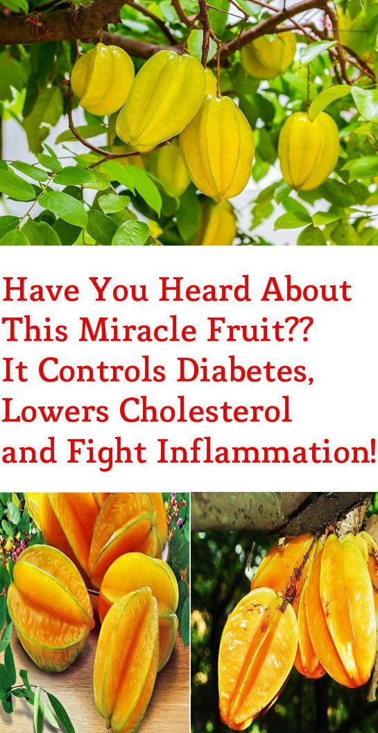 Have You Heard About This Miracle Fruit?? It Controls