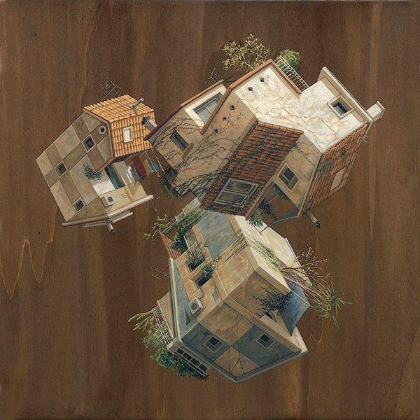 Surreal architectural illustrations by cinta vidal agulló