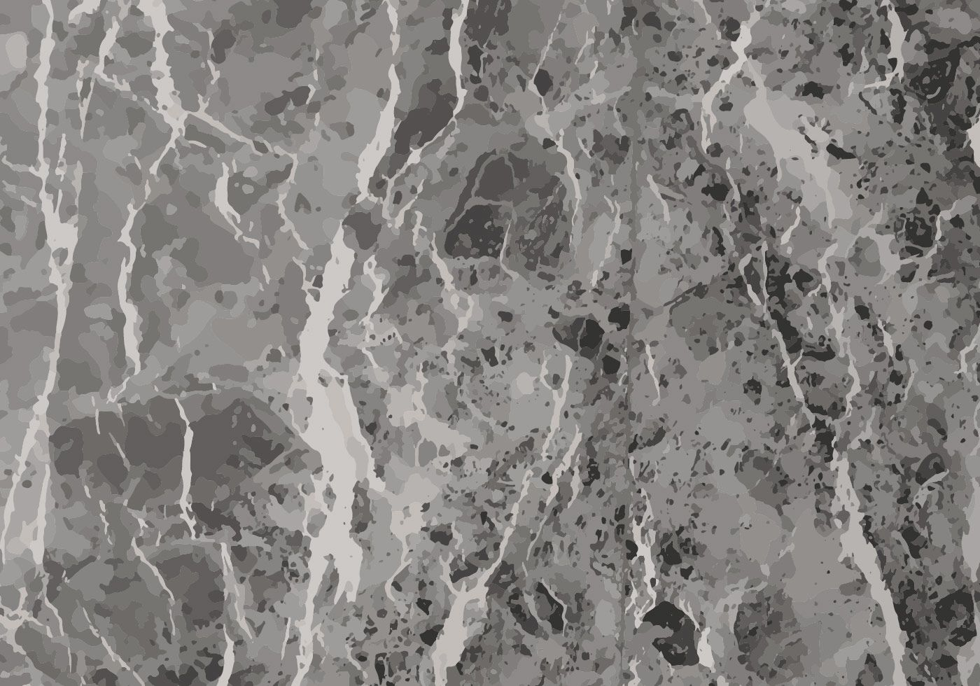 Grey Marble Texture Background Vector Free