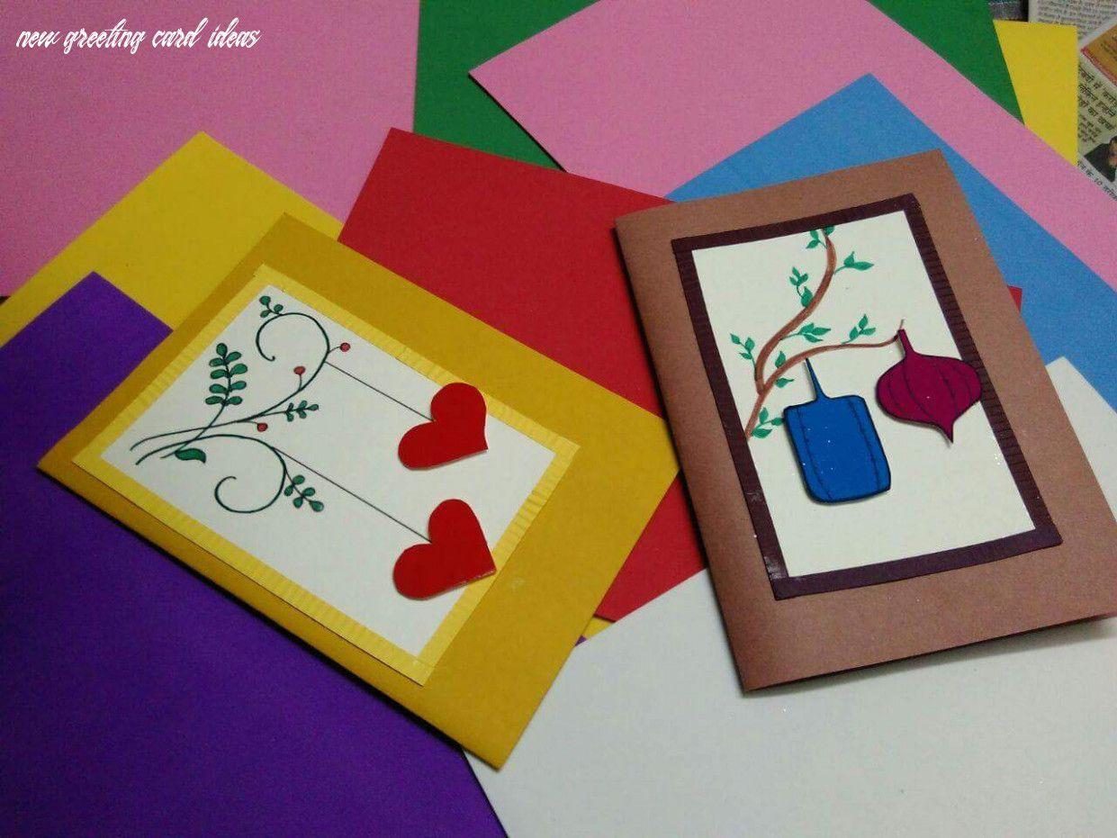 10 New Greeting Card Ideas in 2020 Easy greeting cards