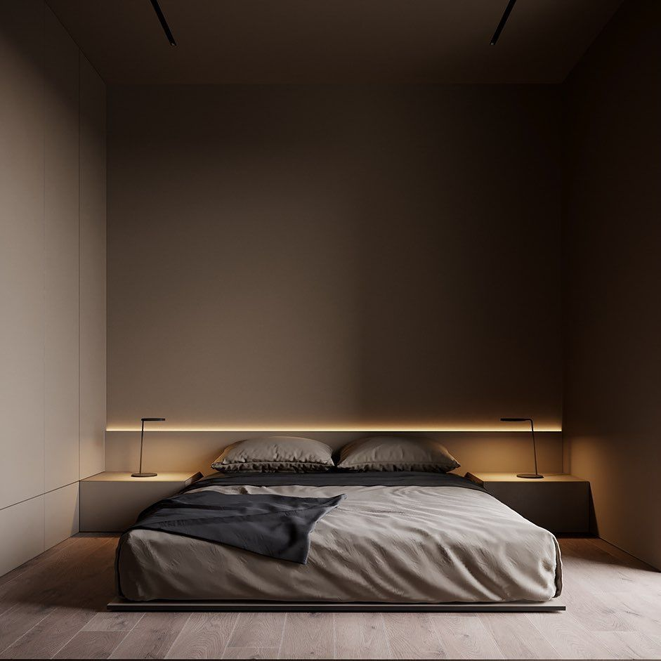 "RENDER LOVERS on Instagram: ""#renderlovers A minimalistic bedroom"