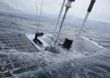 Seafaring robot sails through Sandy unscathed via @CNET