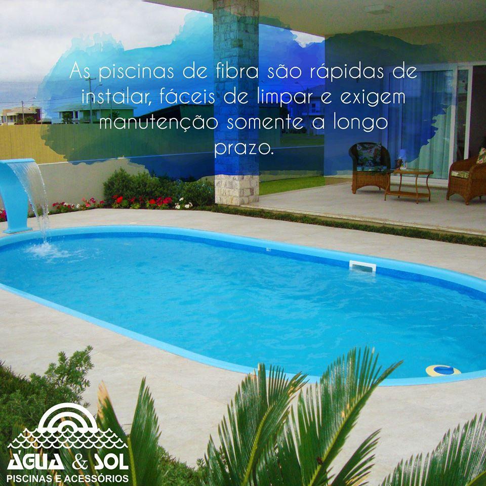 Est na d vida sobre o material de piscina ideal para sua casa as piscinas de fibra t m uma - Material para piscinas ...
