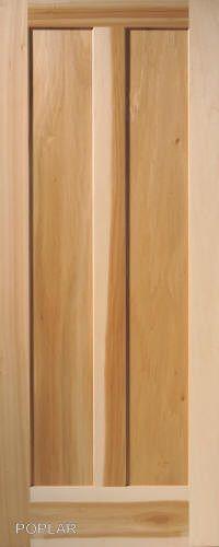panel vertical poplar flat mission stain grade solid core wood interior doors globaloneforestproductspremiumwooddoors staingradewooddoor also rh pinterest