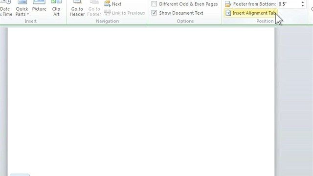 How To Get A Header And Page Number On Word