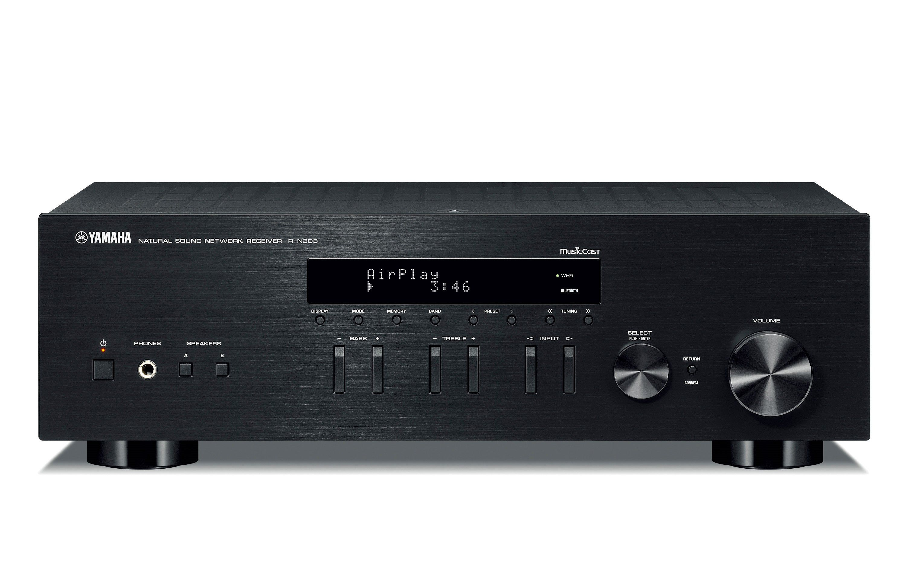 Yamaha Stereo Network Receiver R N303 R N303 Rn303