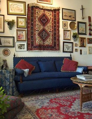 Oriental Carpet Wall Hanging